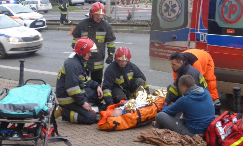 Wypadek we Wrocławiu