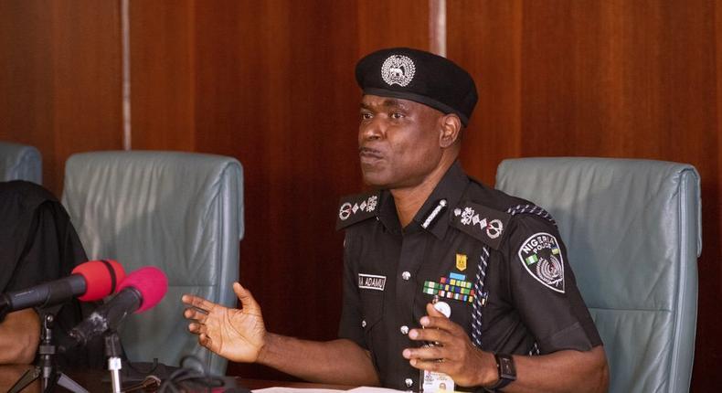 Inspector General of Police, Mohammed Adamu