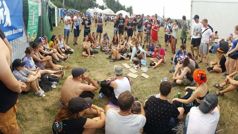Towarzystwo Rozwoju Rodziny podczas Pol'and'Rock Festivalu