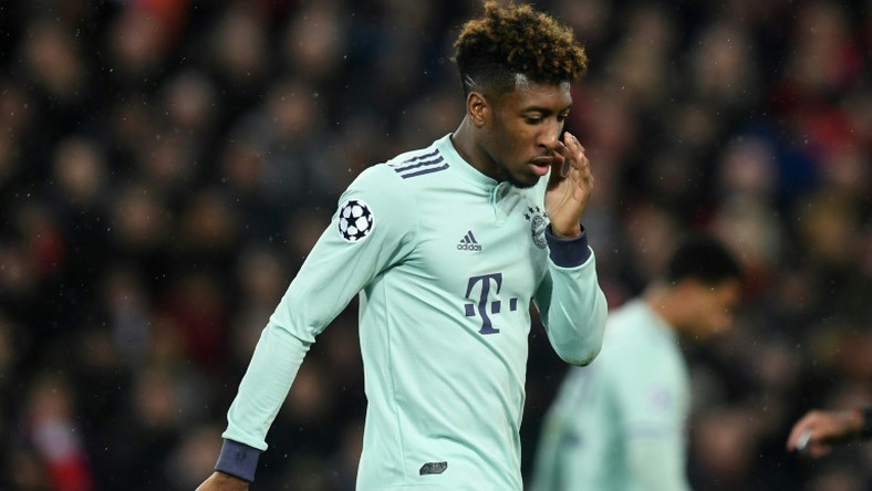 Bayern Munich's Kingsley Coman is one of those recalled to the France squad for the start of Euro 2020 qualifying