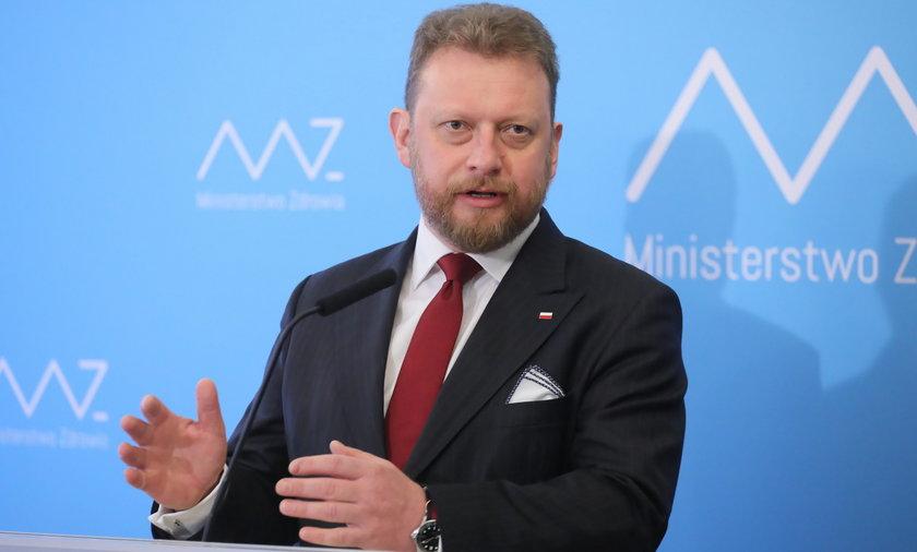 Minister Łukasz Szumowski