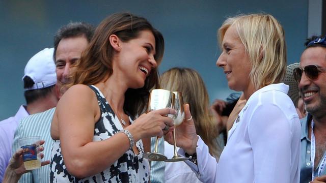 Julija Lemigova i Martina Navratilova