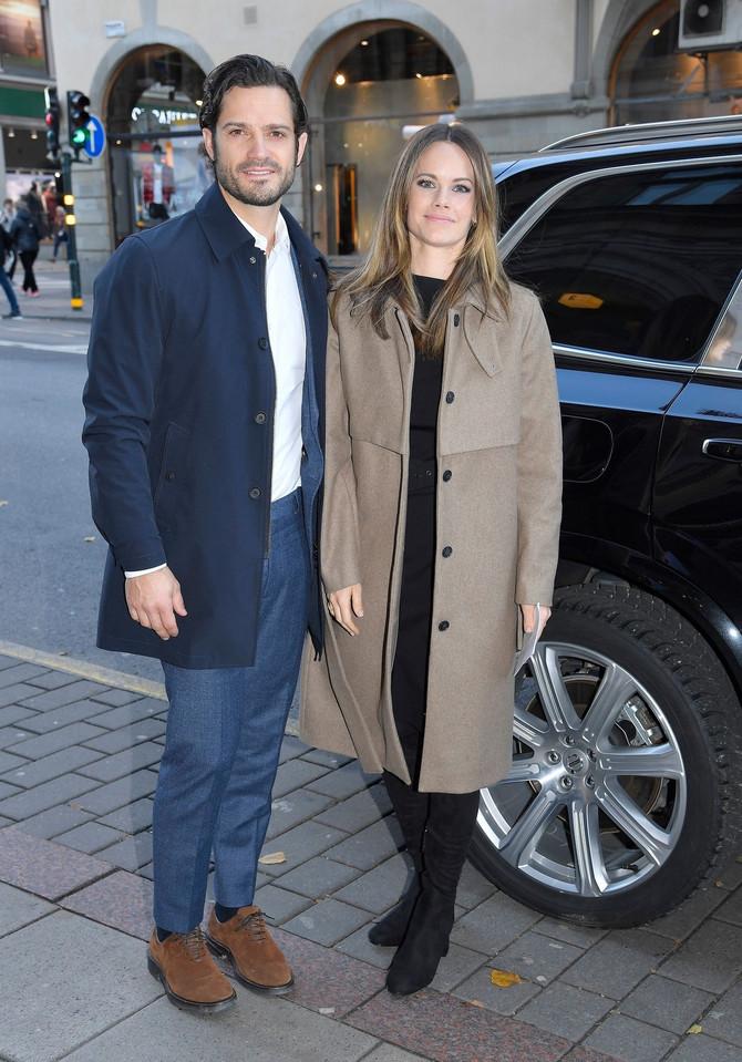 Princeza Sofija sa suprugom