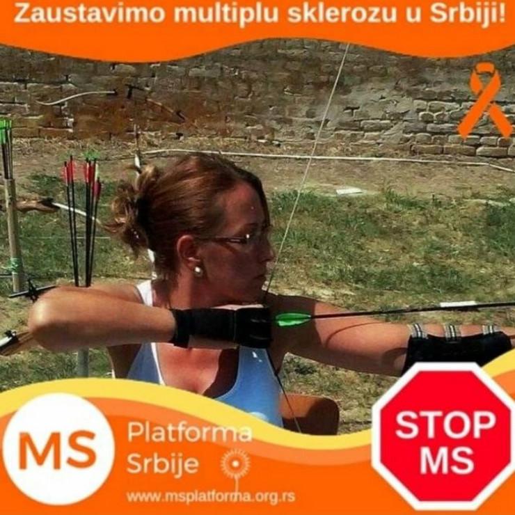Vesna Jovanović, multipla skleroza