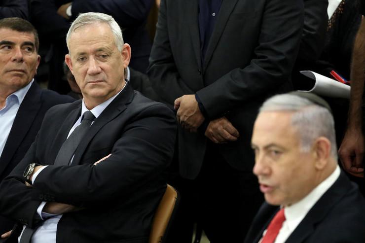 Beni Ganc i Benjamin Netanjahu