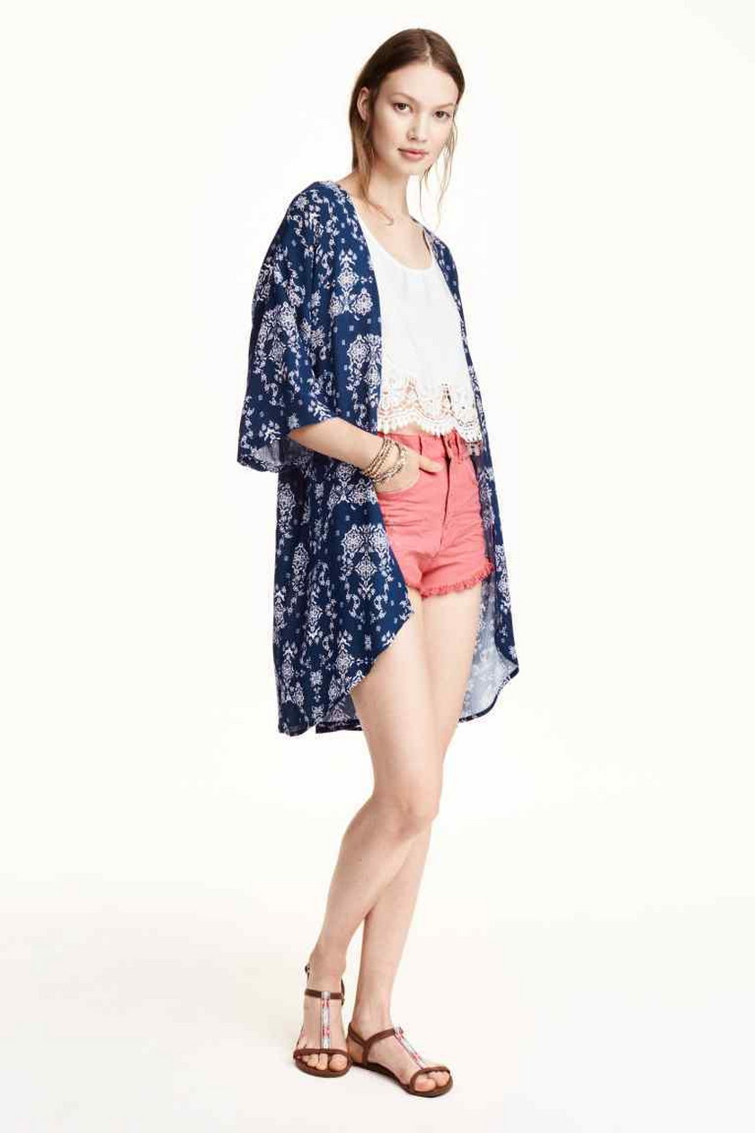 Wzorzyste kimono H&M 79,90 zł