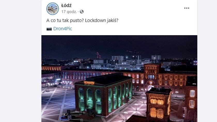 W Łodzi robią sobie kpiny z pandemii?