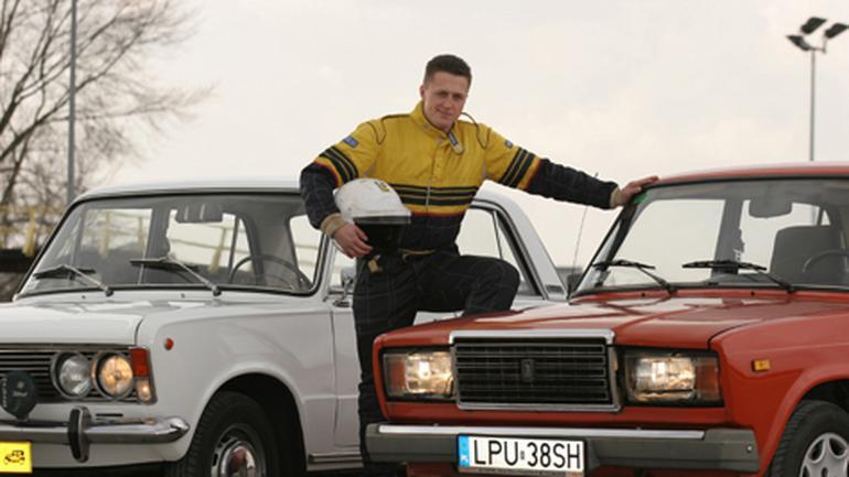 """""""Duży"""" Fiat 1.3 kontra Łada 2107 1.3 - Klasyki PRL-u w teście mistrza"""