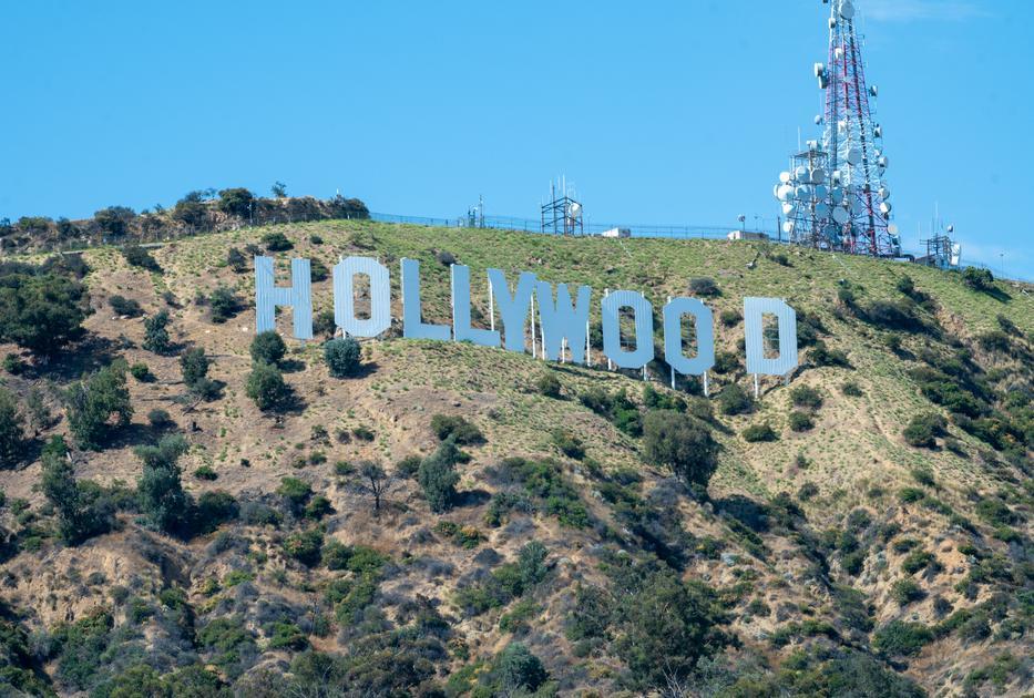Az ikonikus hollywoodi feliratot  13-án avatták fel / Fotó: Getty Images