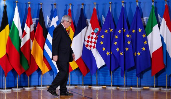 Predsednik EK Žan Klod Junker čeka učesnike samita