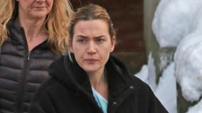 Siniaki na twarzy Kate Winslet. Aktorka kręci nowy film