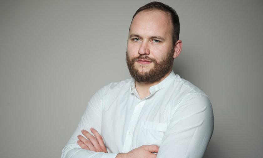 Tomasz Kozłowski, szef działu politycznego Faktu.