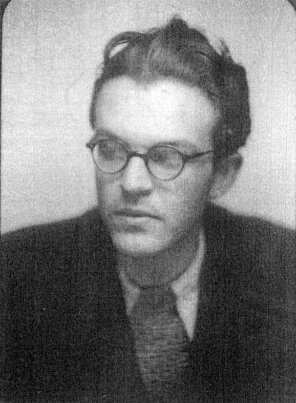Branislav Stranjaković, jedan od istaknutih pripadnika Omladinskog štaba 501