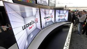 LG zaprezentowało swój pierwszy telewizor z zakrzywionym ekranem