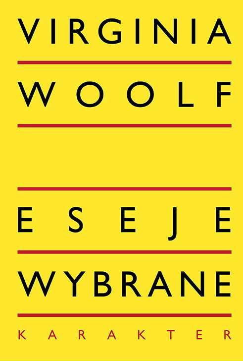 Eseje wybrane - Virginia Woolf, fot. .