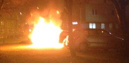 Paliły się auta