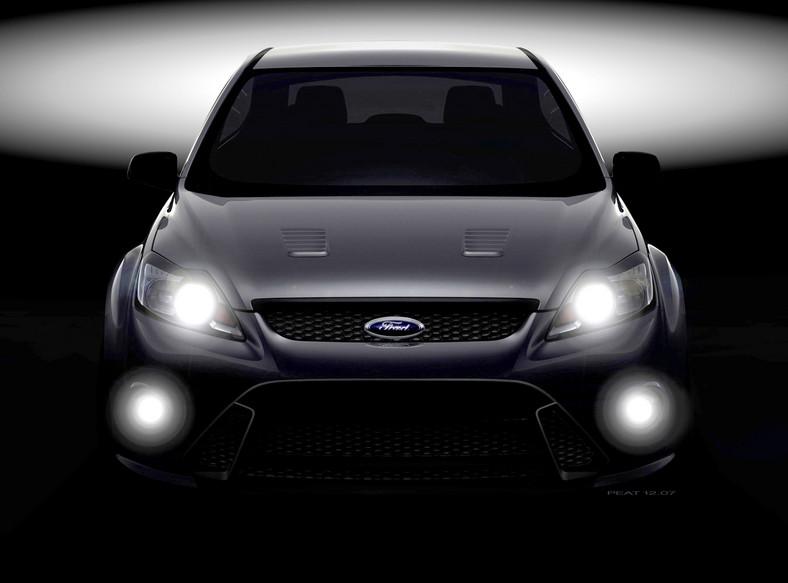 Tajemniczy kadr forda focusa RS