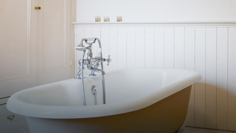 Panele ścienne Pomysł Na Oryginalną łazienkę Dom