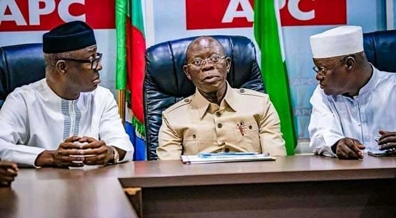 Oshiomhole says 'we are capable of managing ourselves' as NWC resolves APC crisis