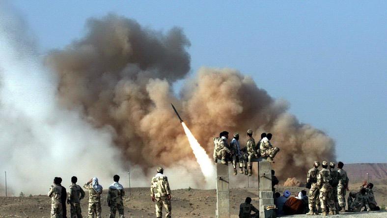 Irańskie rakiety