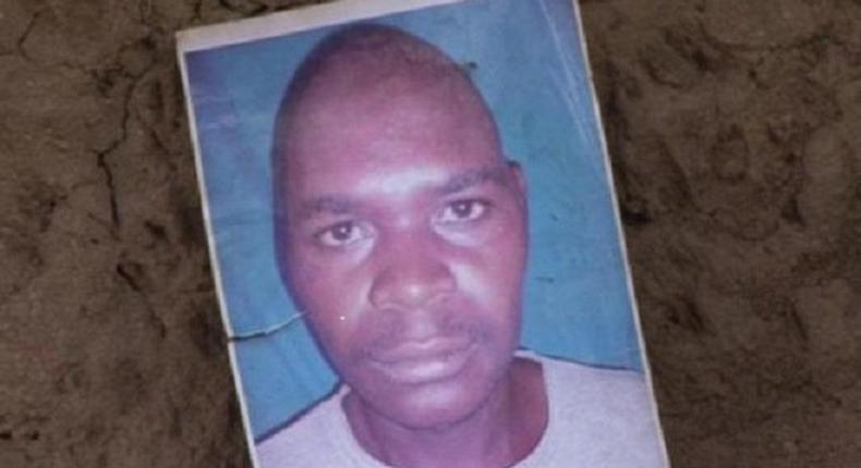 The victim, Simon Wafula