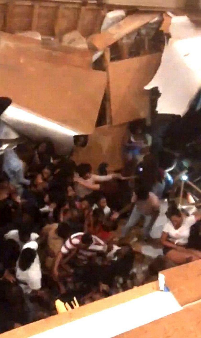 Zabawa studentów przerodziła się w dramat. Przerażające nagrania