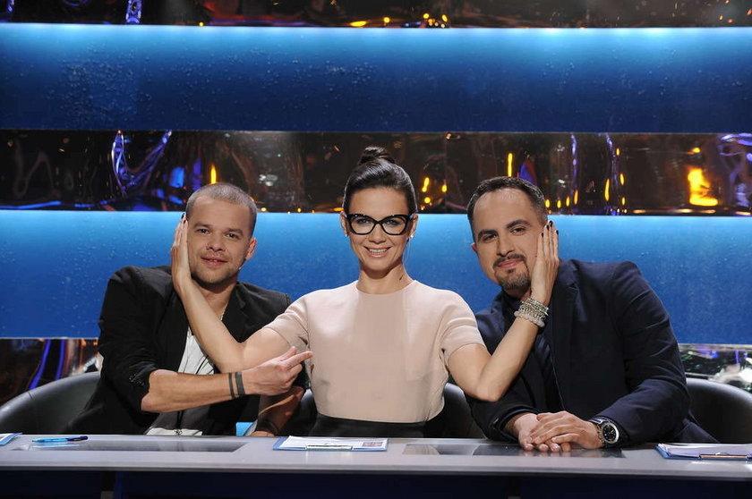 "Jury ""You can dance"" - Michał Piróg, Kinga Rusin, Agustin Egurrola"