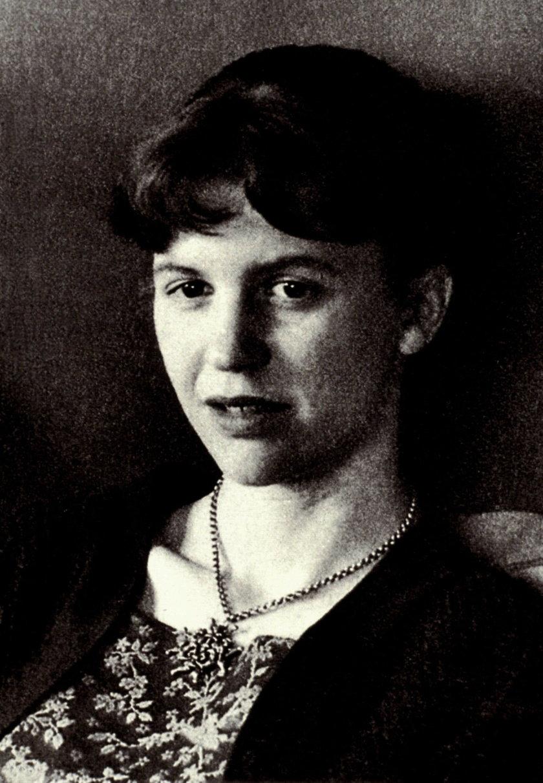 Amerykańska poetka Sylvia Plath