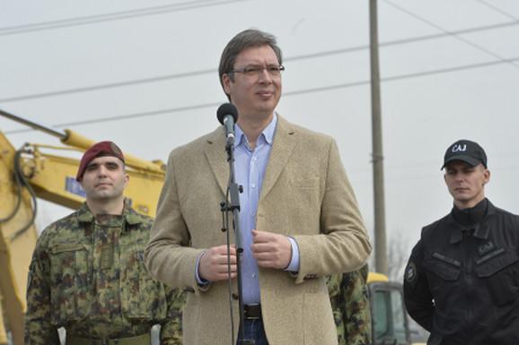 Aleksandar Vučić u Obrenovcu