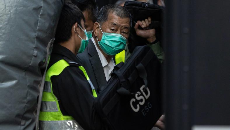 Jimmy Lai w rękach policji