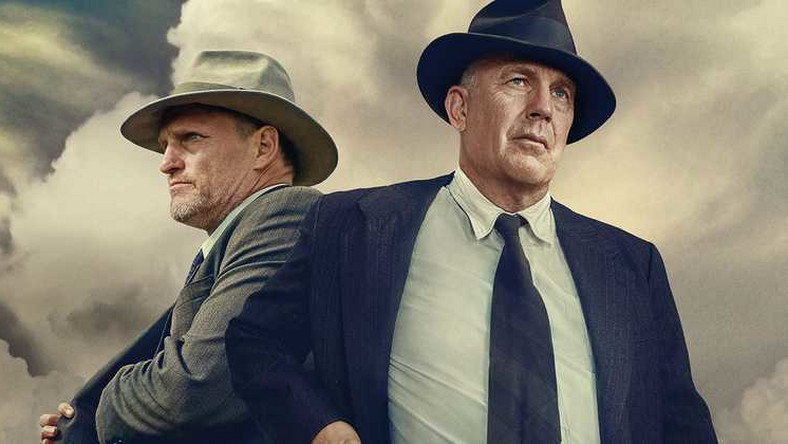 "Kevin Costner i Woody Harrelson w filmie ""The Highwaymen"""