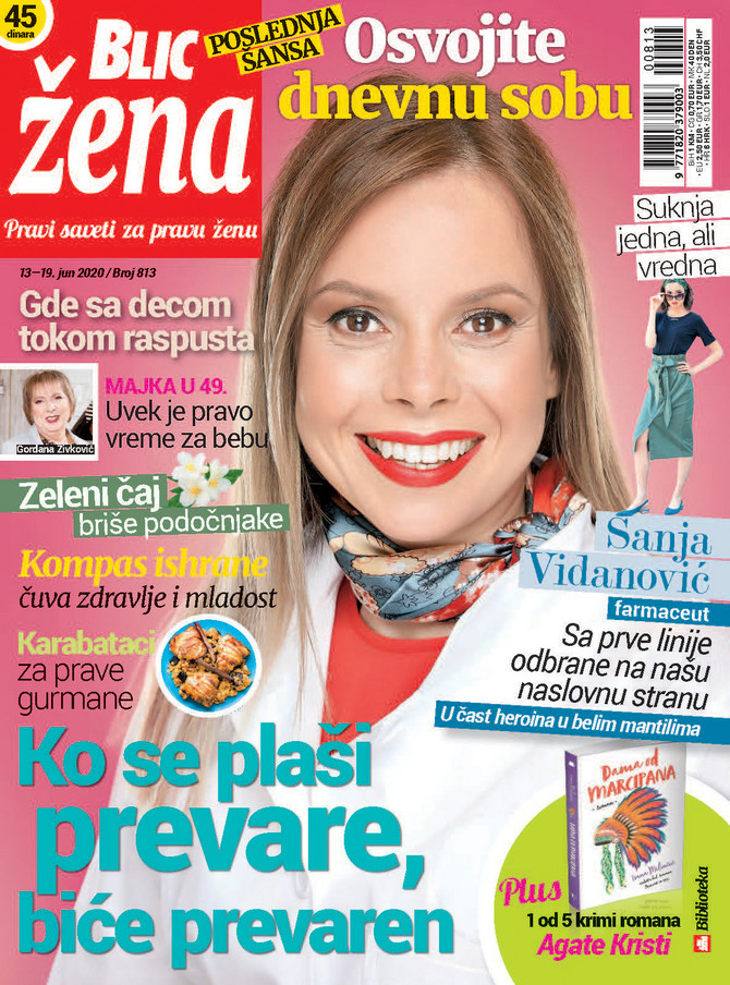 """Novi broj """"Blic žene"""" u prodaji od subote 13. juna"""