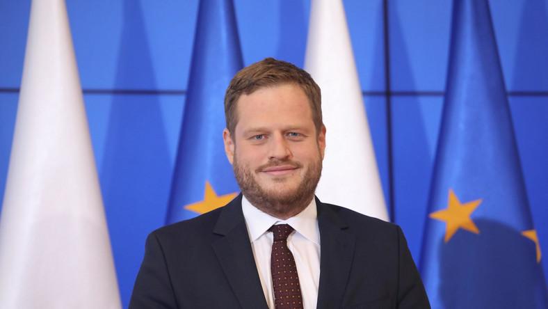 Sekretarz stanu w Kancelarii Prezesa Rady Ministrów, pełnomocnik rządu ds. cyberbezpieczeństwa Janusz Cieszyński