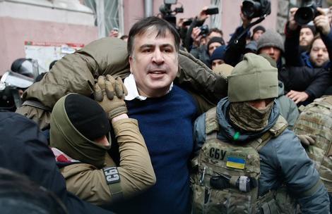 Hapšenje Mihaila Sakašvilija
