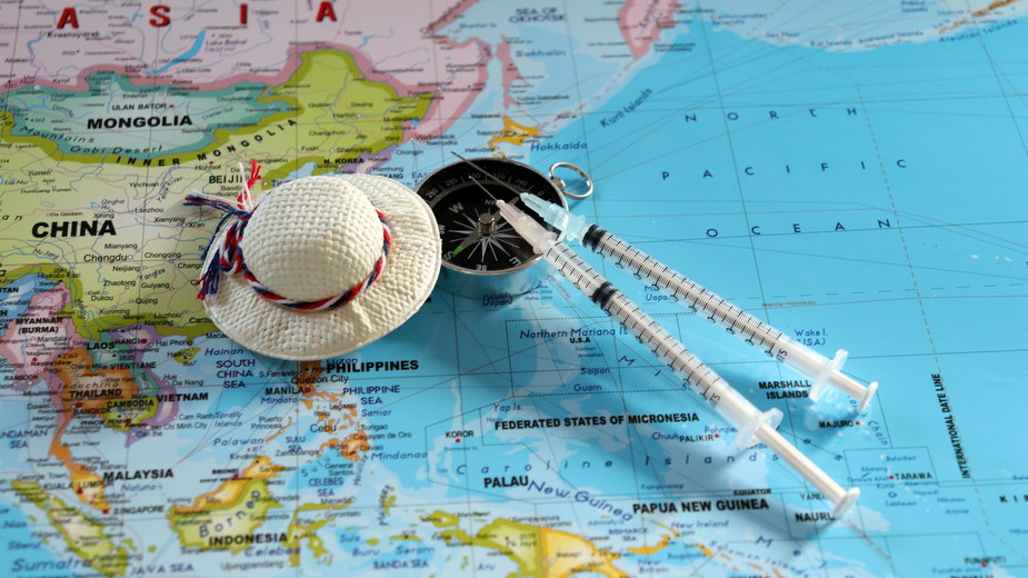 Kraje, do których możesz swobodnie podróżować po zaszczepieniu się