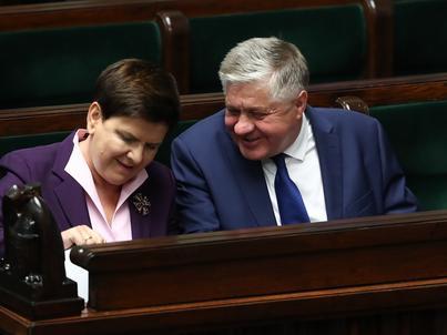 Podczas sejmowej debaty Krzysztofa Jurgiela broniła premier Beata Szydło