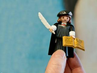 Martin Luther as Playmobil-Figure