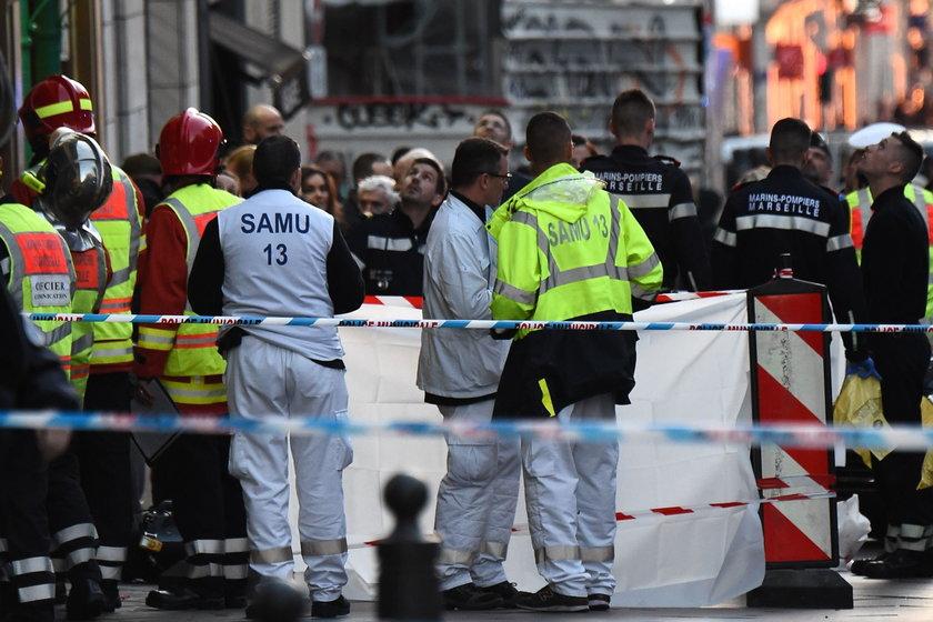 Atak nożownika we Francji. Cztery osoby ranne!