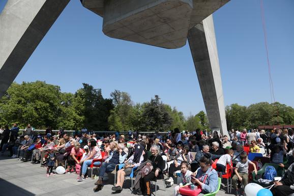 Na proslavi rođendana Avalskog tornja bilo je oko 5.000 ljudi