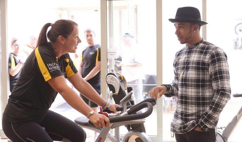 Lewis Hamilton wsparł rannych żołnierzy w ramach 2014 Invictus Games!