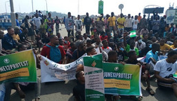 Youths protest against bad governance in Ibadan (TheWhistler)