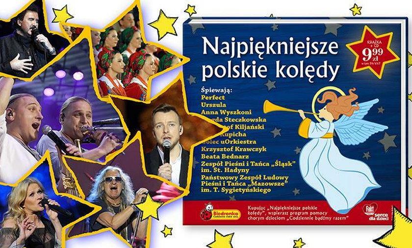"""Płyta """"Najpiękniejsze polskie kolędy"""""""