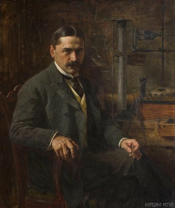 Bili 30 godina u svađi: Mihajlo Pupin (delo Paje Jovanovića)