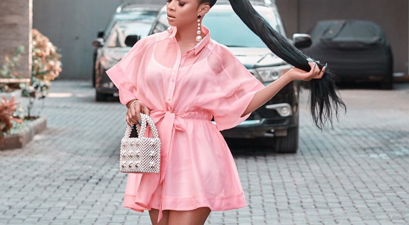 3 chic ways to rock pink on Valentine's Day as inspired by Toke Makinwa