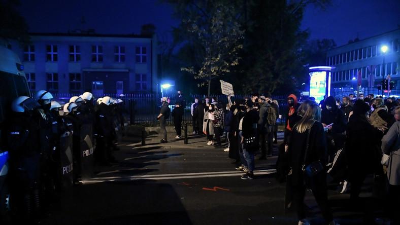 Protesty w stolicy