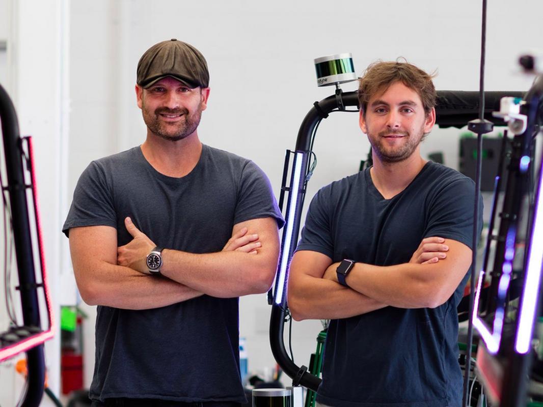 Tim Kentley-Klay and Jesse Levinson, założyciele Zoox