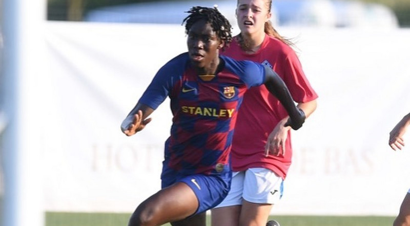 Super Falcons star Asisat Oshoala scores hattrick for Barcelona women's pre-season win