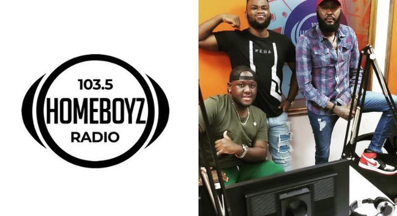 Homeboyz Radio fire Shafiie Weru, Dj Joe Mfalme and Neville