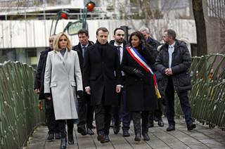 Francja: Macron oddał hołd ofiarom zamachów w Paryżu sprzed trzech lat
