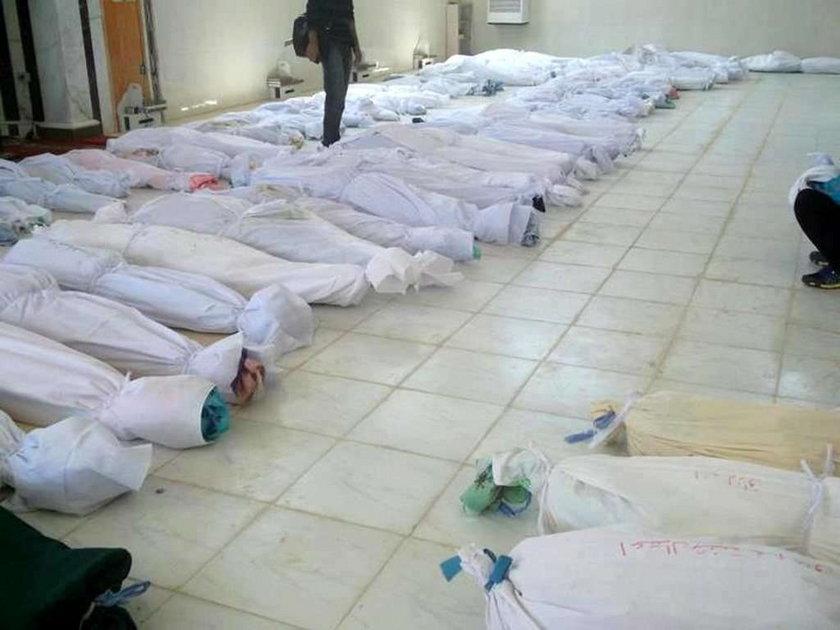 Cywile zabici w Syrii